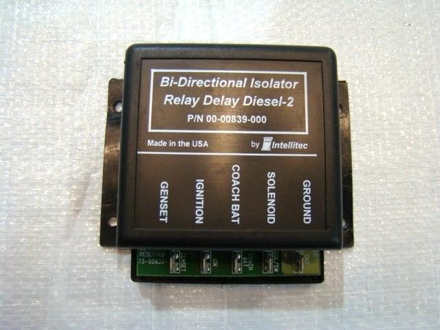 USED BI-DIRECTIONAL RELAY DELAY DIESEL P/N: 00-00839-000