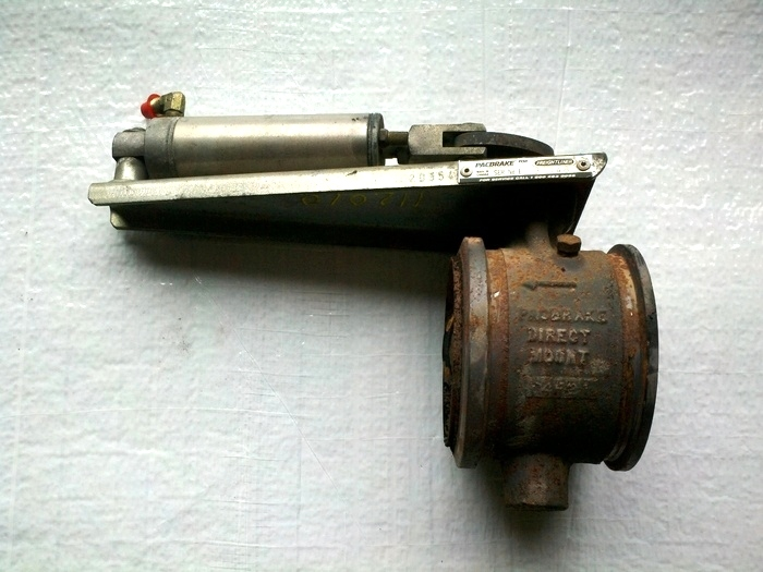 USED EXHAUST BRAKE PACBRAKE FOR CUMMINS ENGINE