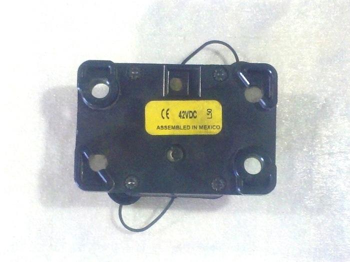 USED BUSSMAN CIRCUIT BREAKER P/N: 184120F