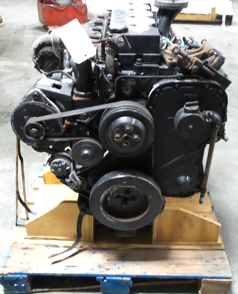Engines And Auto Parts For Sale: CUMMINS 8.3L ISC 350 DIESEL ENGINE FOR SALE - LOW