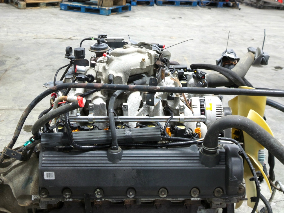 Rv chassis parts used 1999 ford v10 triton engine for sale for Used ford motors sale