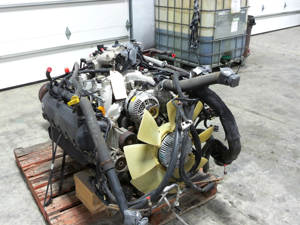 rv chassis parts used 1999 ford v10 triton engine for sale rv gasoline engines rv salvage. Black Bedroom Furniture Sets. Home Design Ideas