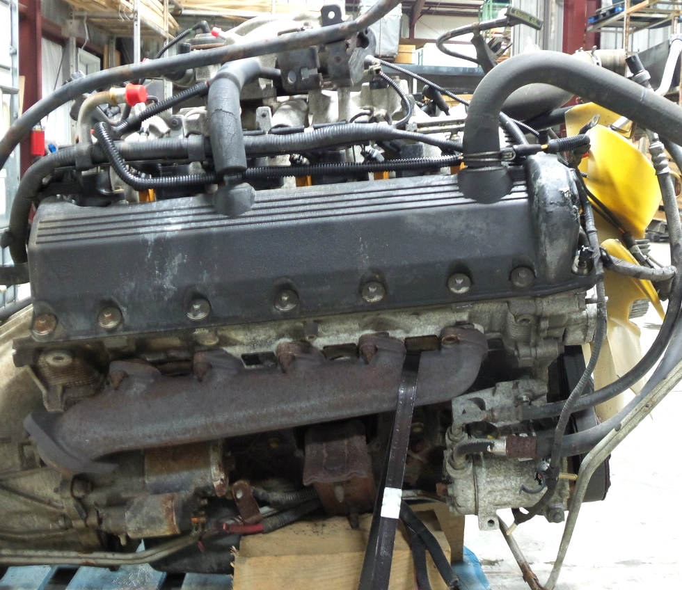 Rv chassis parts used 1999 ford v10 triton engine for sale for Ford used motors for sale
