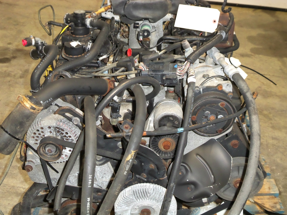 Rv chassis parts ford 460 v8 year 1997 gas engine for sale for Ford used motors for sale