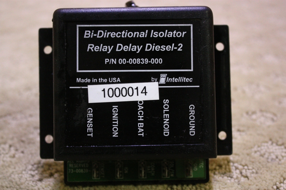 USED BI-DIRECTIONAL ISOLATOR RELAY DELAY DIESEL-2 FOR SALE