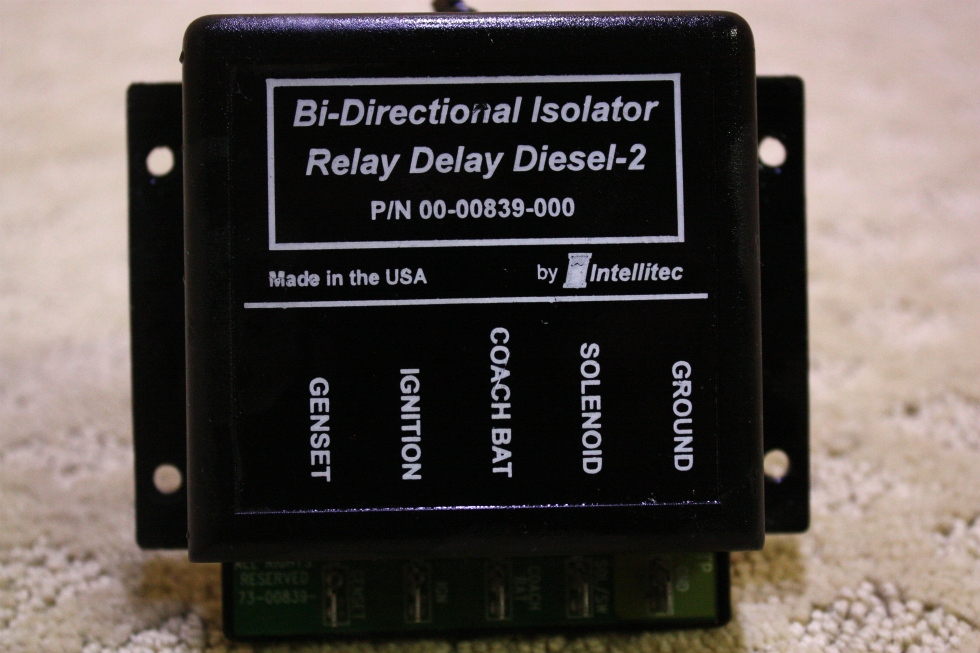 USED INTELLITEC BI-DIRECTIONAL ISOLATOR RELAY DELAY DIESEL-2 FOR SALE