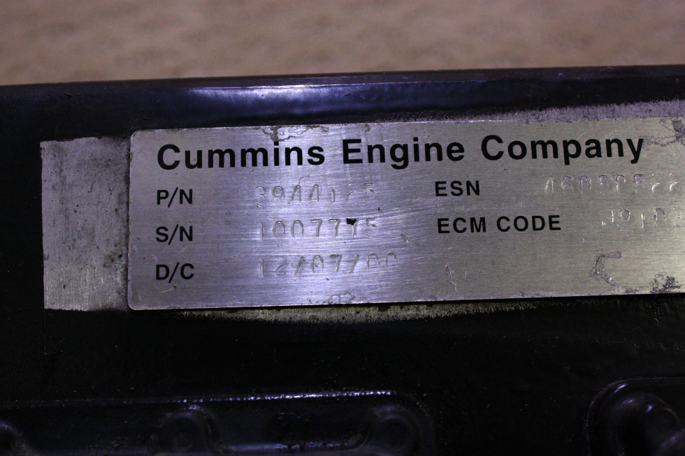 Rv Chassis Parts Used Cummins Engine Company Ecm 3944125