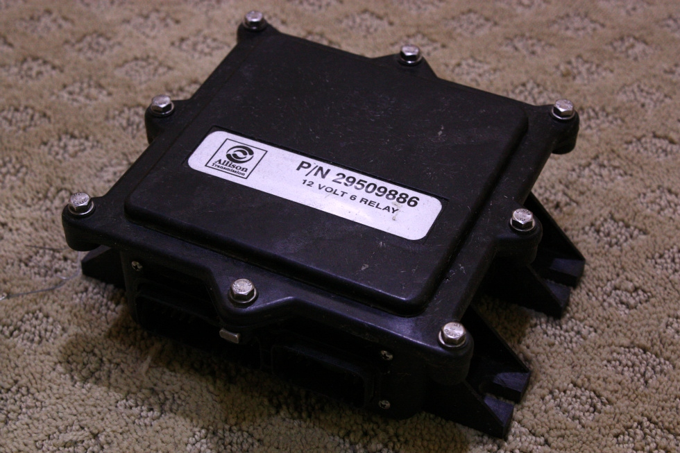 USED ALLISON 12 VOLT 6 RELAY 29509886 FOR SALE