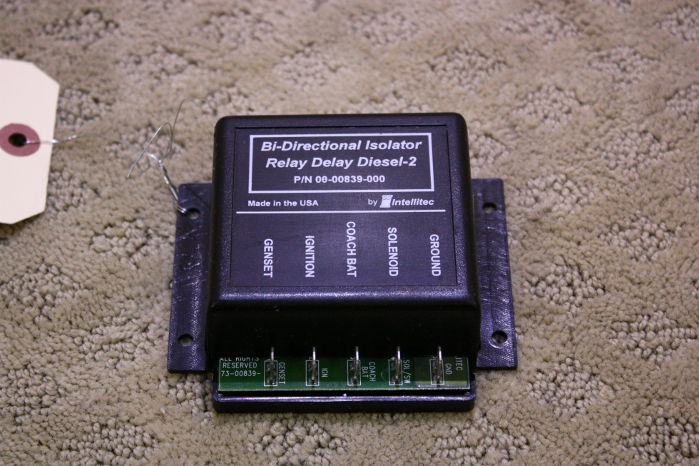 USED BI-DIRECTIONAL ISOLATOR RELAY DELAY DIESEL 2 FOR SALE