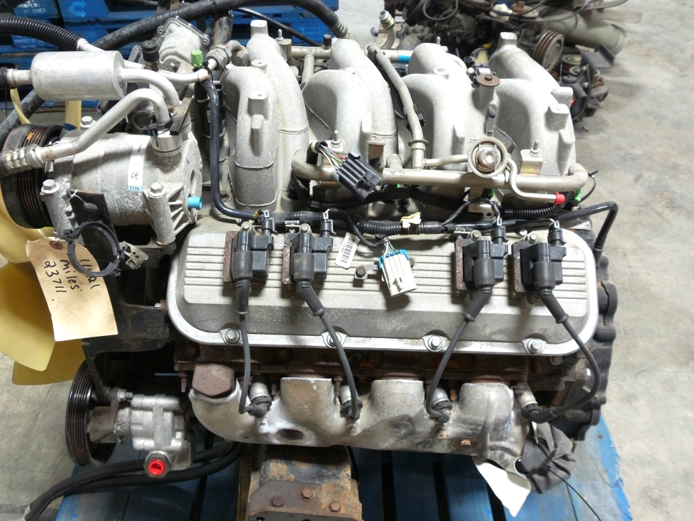 RV Chassis Parts USED CHEVY VORTEC 8100 8.1L ENGINE FOR ...