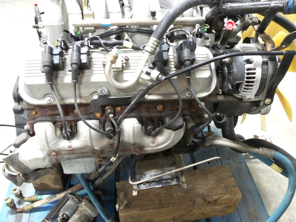 rv chassis parts used chevy vortec 8100 8 1l engine for sale rv gasoline engines chevrolet. Black Bedroom Furniture Sets. Home Design Ideas