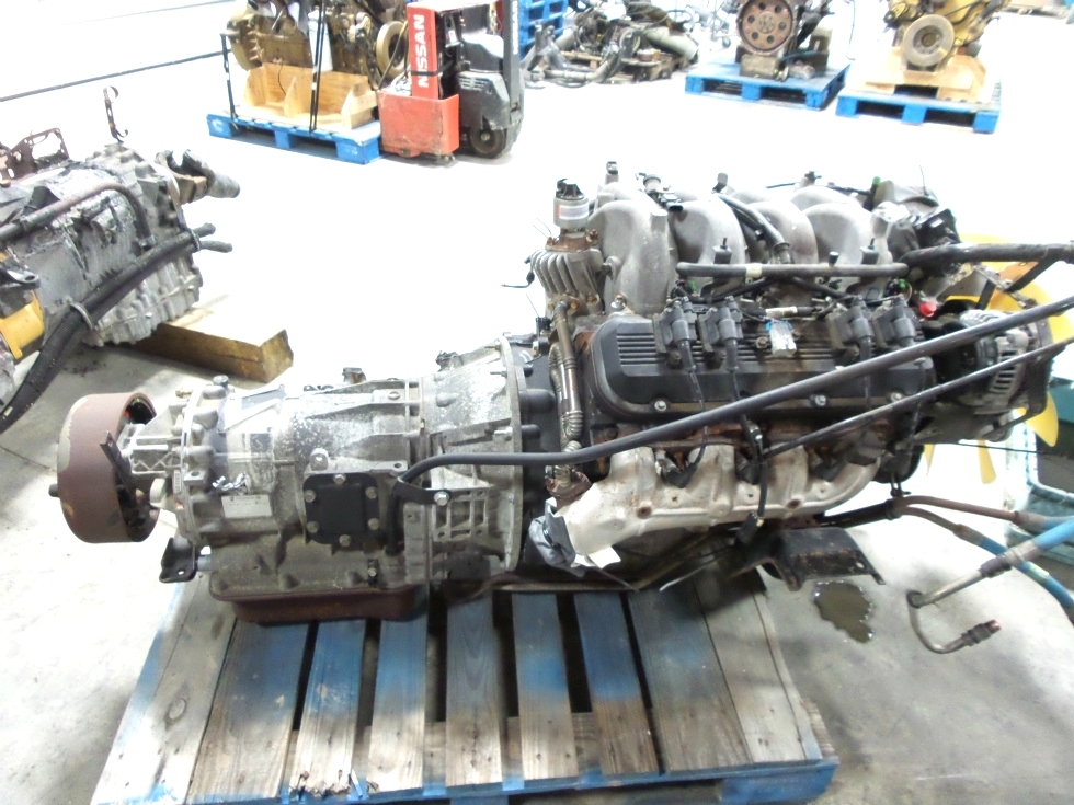 rv chassis parts used chevy vortec 8100 8 1l engine with allison transmission for sale rv. Black Bedroom Furniture Sets. Home Design Ideas