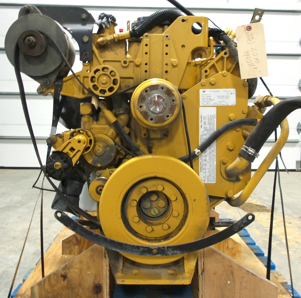Rv Chassis Parts Used Caterpillar C7 Engine For Sale 2004