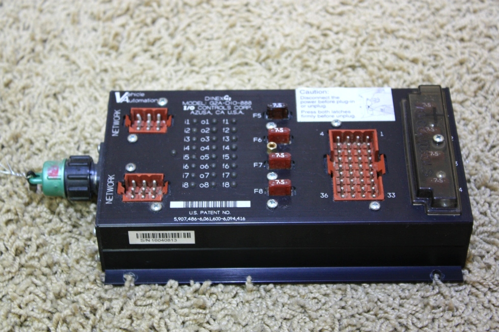 USED DINEXG2 I/O CONTROL MODULE FOR BLUE BIRD WANDERLODGE MOTORHOME PARTS FOR SALE