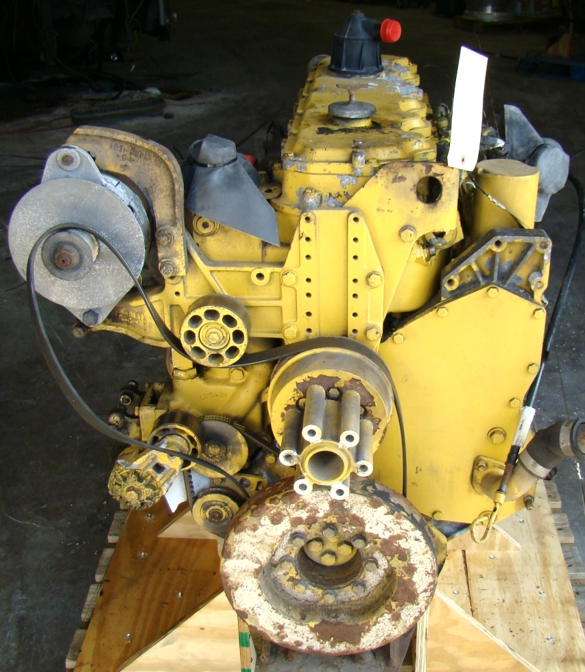 USED CATERPILLAR ENGINE | CAT 3126 7.2L YEAR 1998 300HP 42,000 MILES FOR SALE