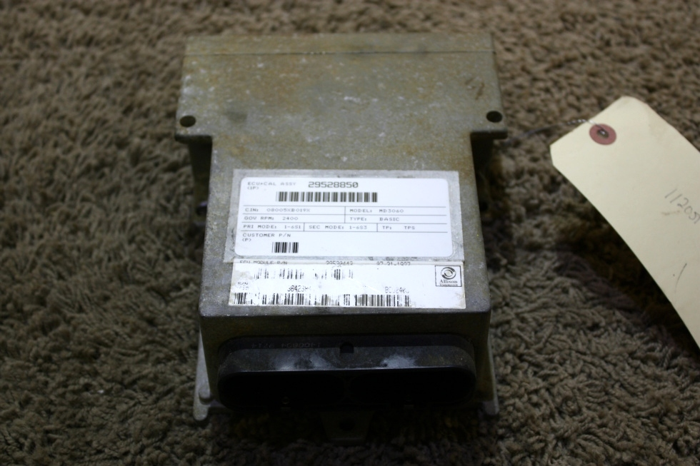 USED MOTORHOME ALLISON TRANSMISSION 29530443 ECU FOR SALE