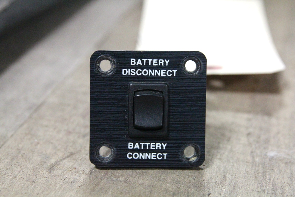 USED RV/MOTORHOME BATTERY DISCONNECT/CONNECT SWITCH | SIZE: 2x2