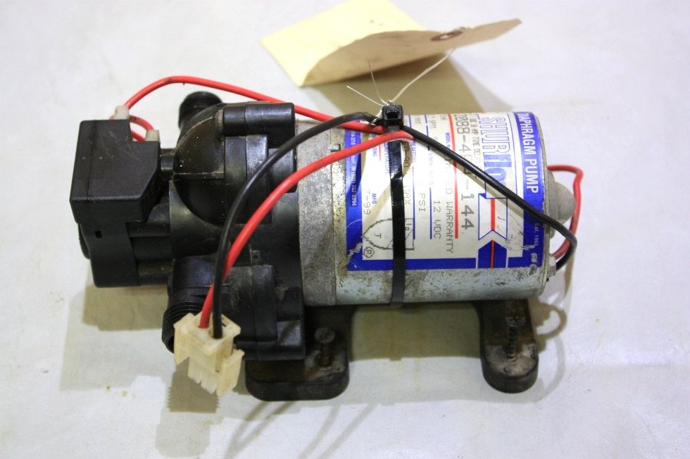 USED SHURFLO WATER PUMP 2088-404-144 FOR SALE