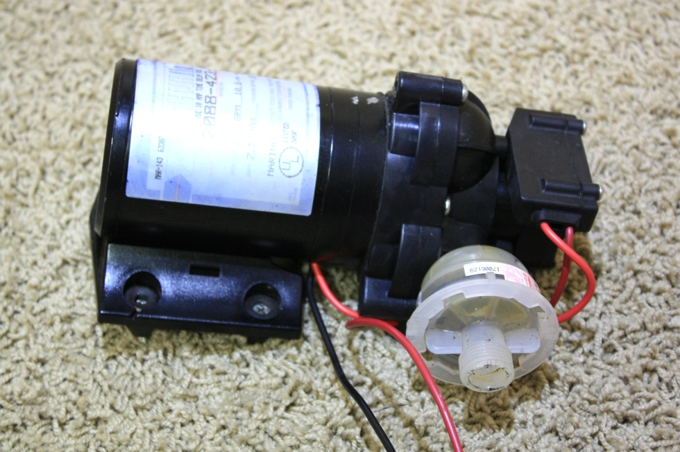 USED SHURFLO WATER PUMP 2088-423-344 FOR SALE