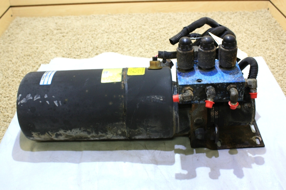 USED MOTORHOME PARTS POWER GEAR HYDRAULIC PUMP 500644 FOR SALE
