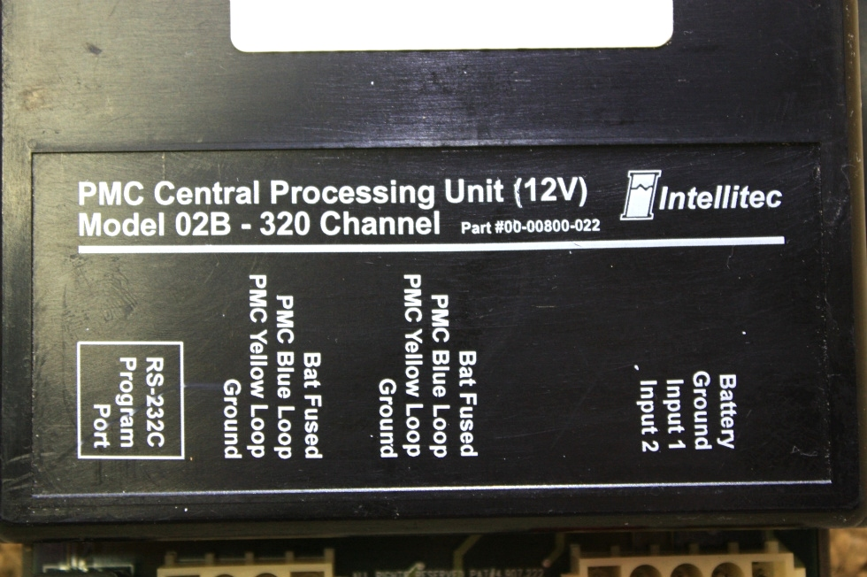 RV Components USED RV PARTS INTELLITEC PMC CENTRAL PROCESSING UNIT ...