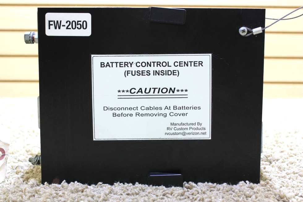 USED MOTORHOME BATTERY CONTROL CENTER FW-2050 FOR SALE