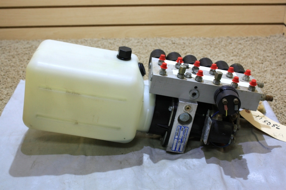 USED RV PARTS EQUALIZER SYSTEMS HYDRAULIC PUMP S103T-5075 FOR SALE