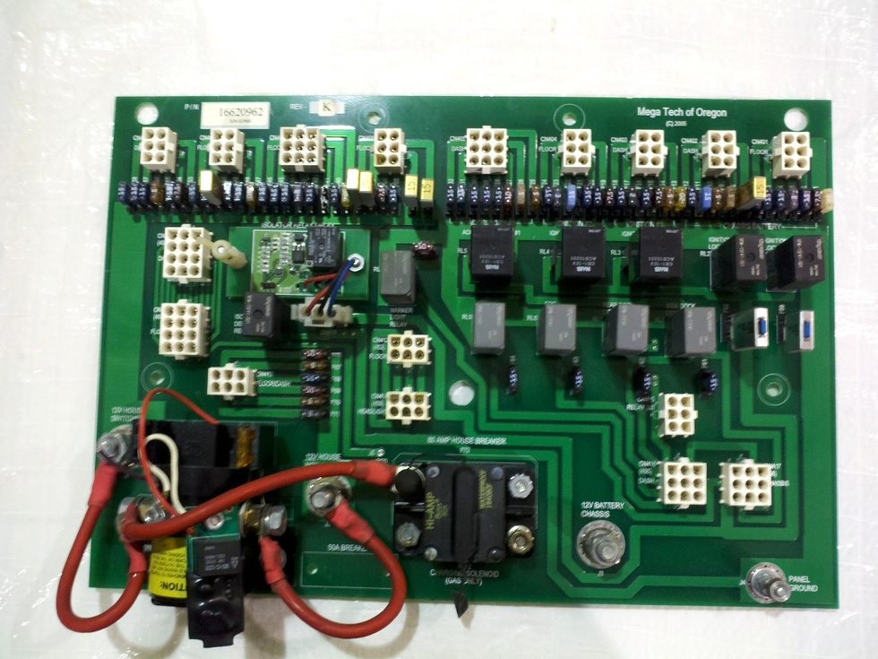 Used Monaco RV Delay Isolator Board p/n 16620962 Rev K