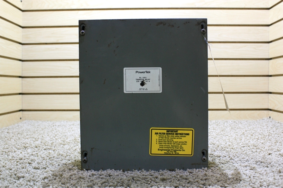 USED MOTORHOME POWERTEK TRANSFER RELAY RL-1501 RV PARTS FOR SALE
