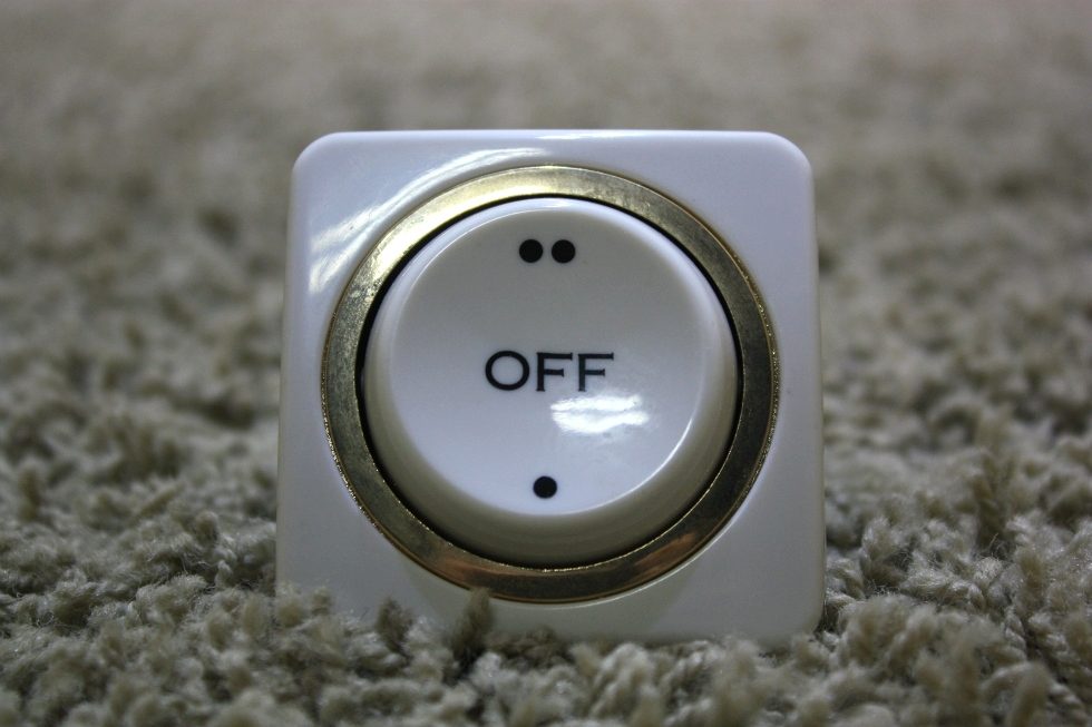 USED RV INTERIOR ON/OFF SWITCH MOTORHOME PARTS FOR SALE