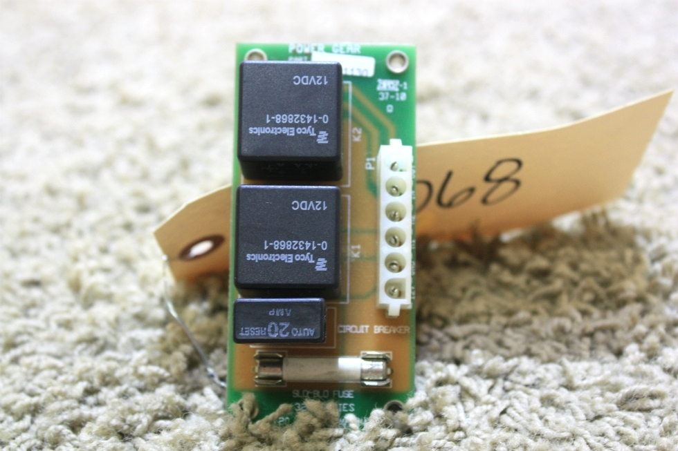 USED RV POWER GEAR SLIDE OUT CONTROL BOARD 140-1130 MOTORHOME PARTS FOR SALE