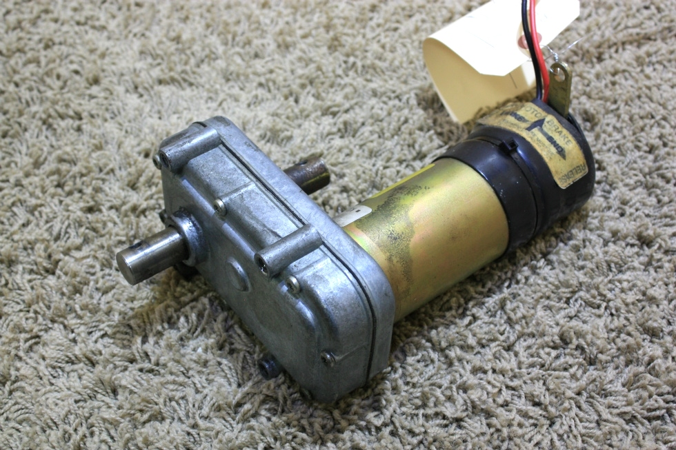 Rv components used rv power gear slide out motor 522176 for Used gear motors for sale