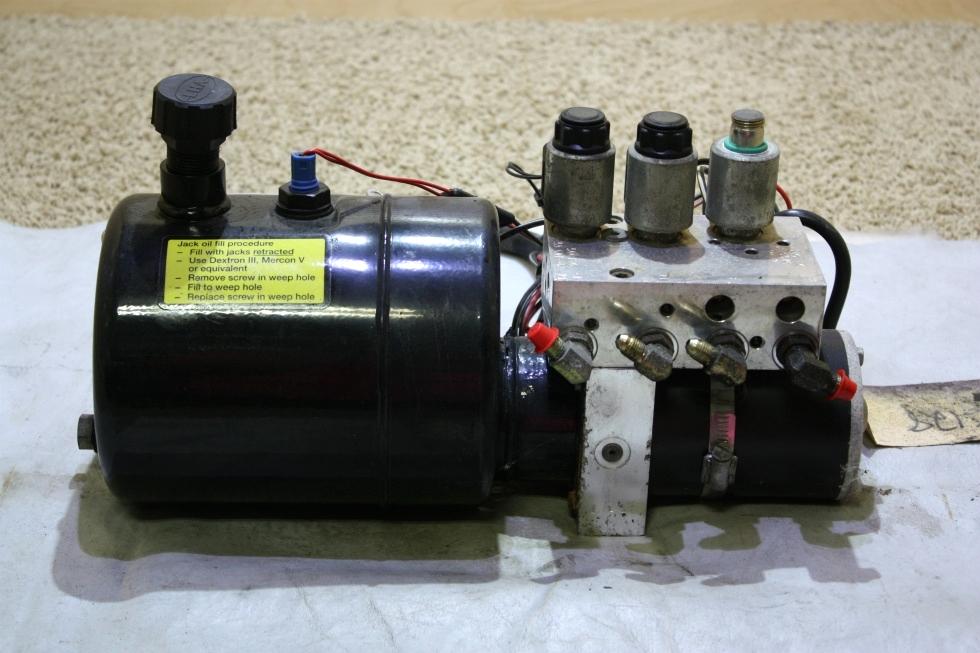USED POWER GEAR HYDRAULIC PUMP 500825 RV PARTS FOR SALE