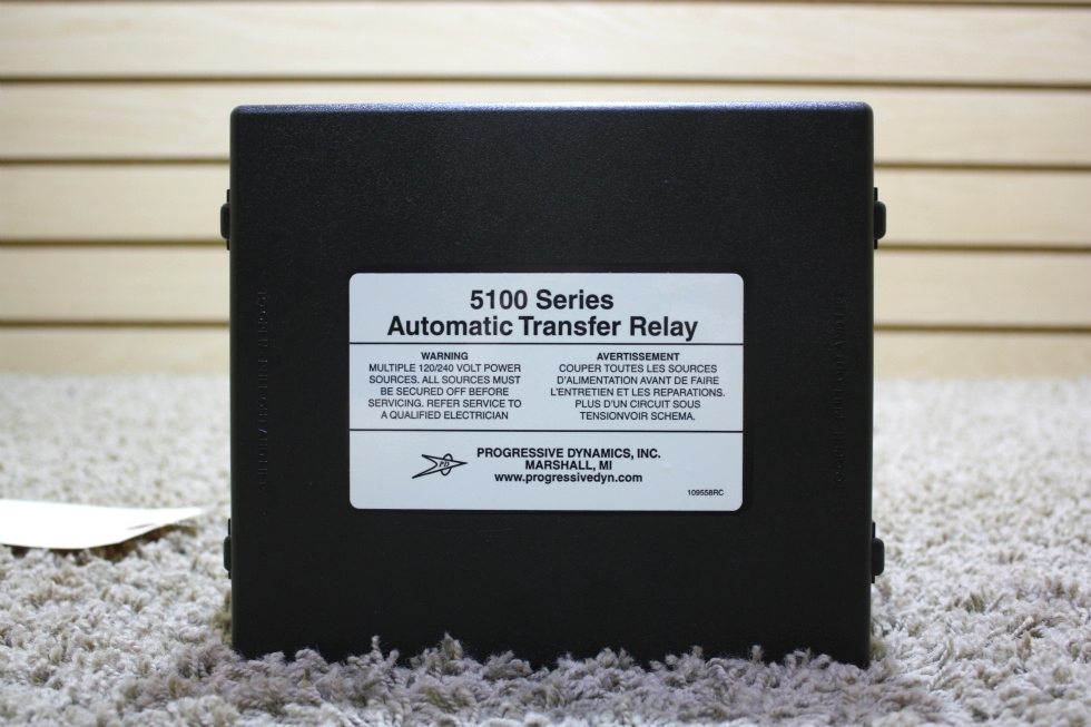USED PROGRESSIVE DYNAMICS 5100 SERIES AUTOMATIC TRANSFER RELAY FOR SALE
