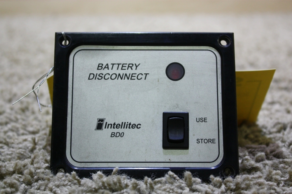 USED INTELLITEC BATTERY DISCONNECT SWITCH BD0 01-00066-004 RV PARTS FOR SALE