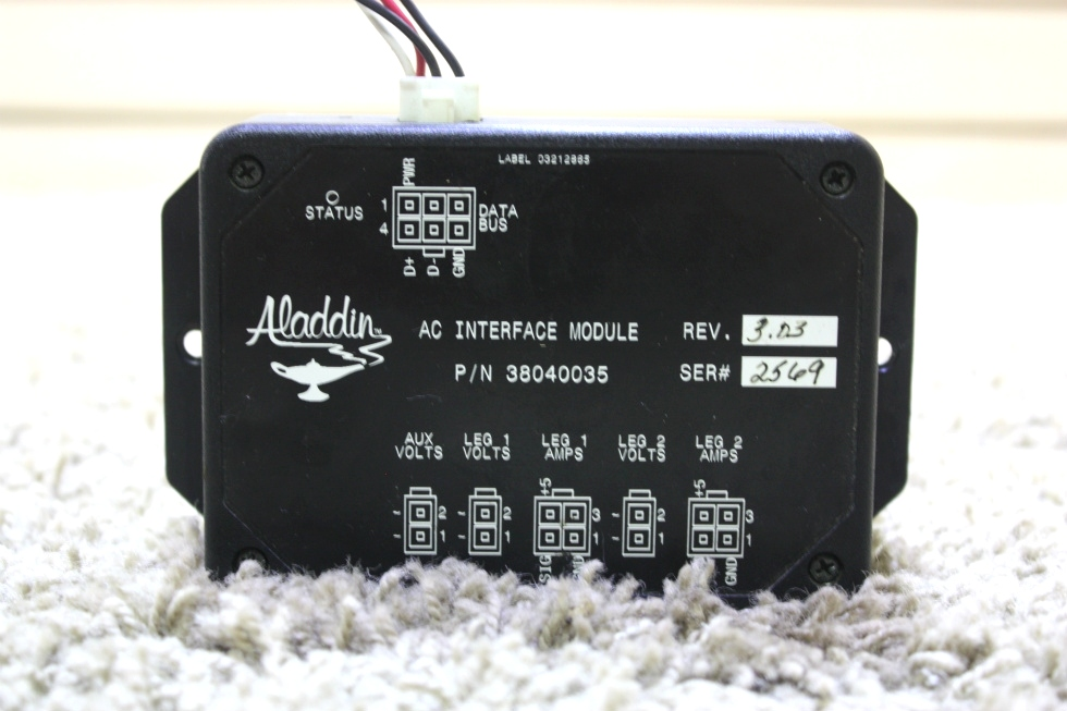 USED 38040035 ALADDIN AC INTERFACE MODULE RV PARTS FOR SALE