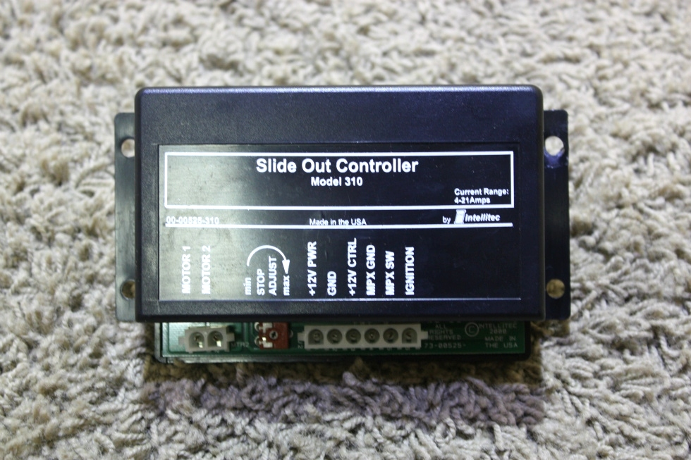 USED SLIDE OUT CONTROLLER MODEL 310 BY INTELLITEC 00-00525-310 MOTORHOME PARTS FOR SALE