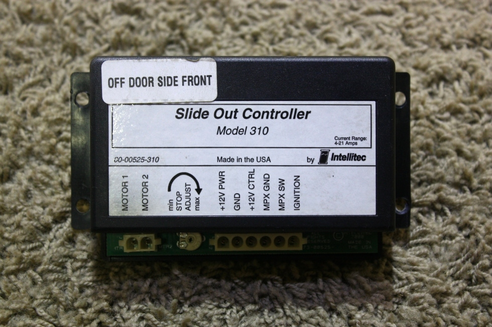 USED 00-00525-310 SLIDE OUT CONTROLLER BY INTELLITEC MODEL 310 RV PARTS FOR SALE