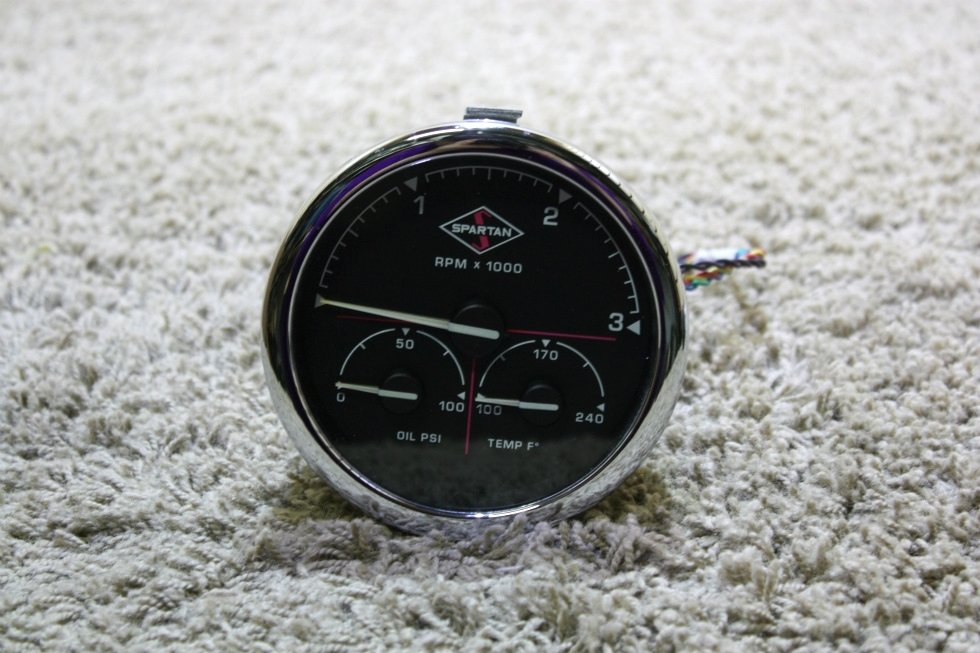 USED MOTORHOME SPARTAN 3 IN 1 TACHOMETER 00041369 FOR SALE