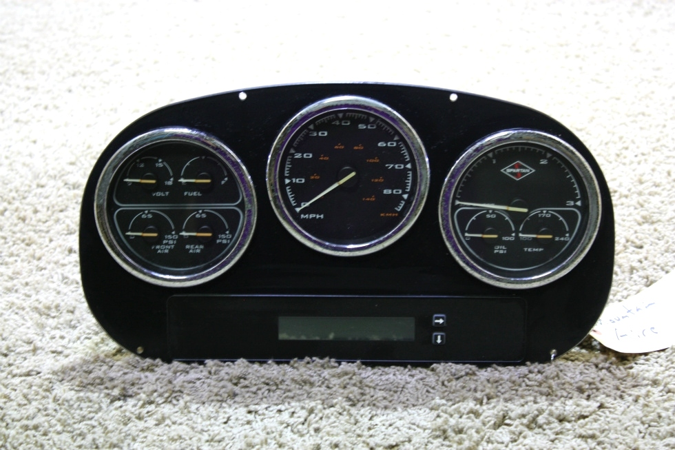 USED RV SPARTAN DASH CLUSTER FOR SALE