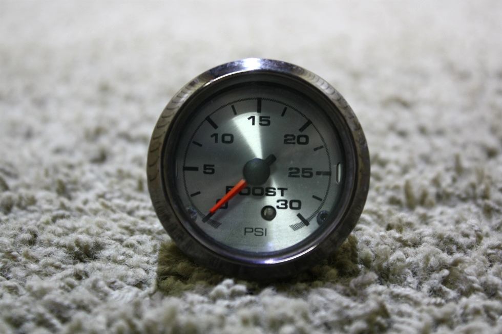 USED RV BOOST / PSI DASH GAUGE 945873-112502 FOR SALE