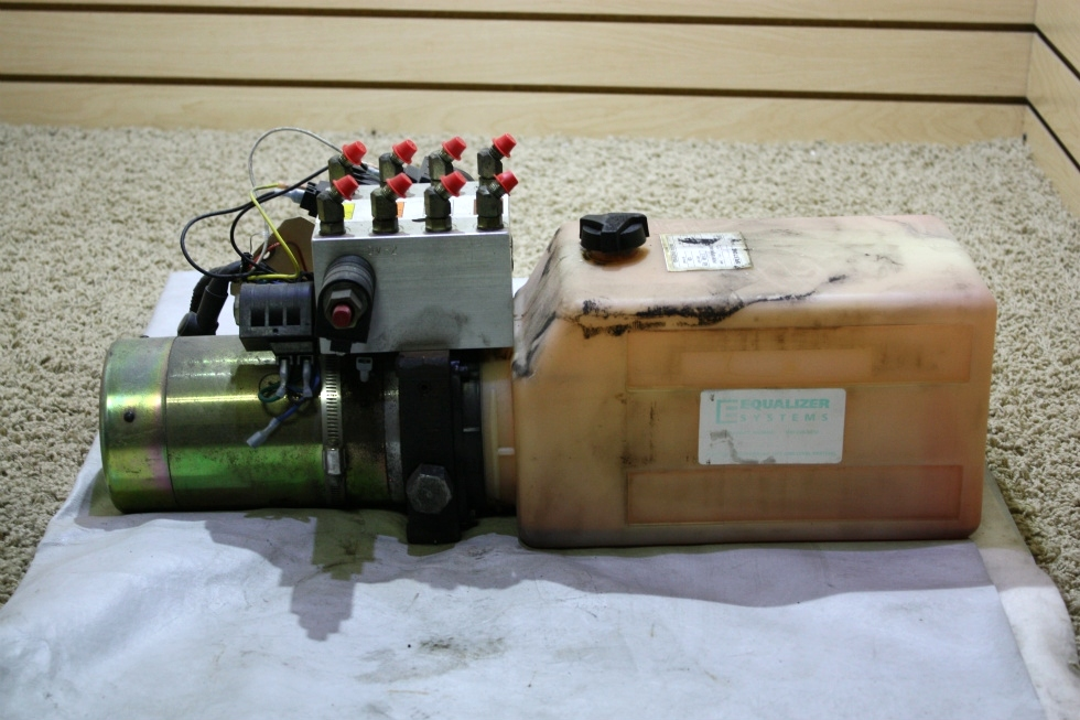 USED EQUALIZER SYSTEMS HYDRAULIC PUMP DC-1067 RV PARTS FOR SALE