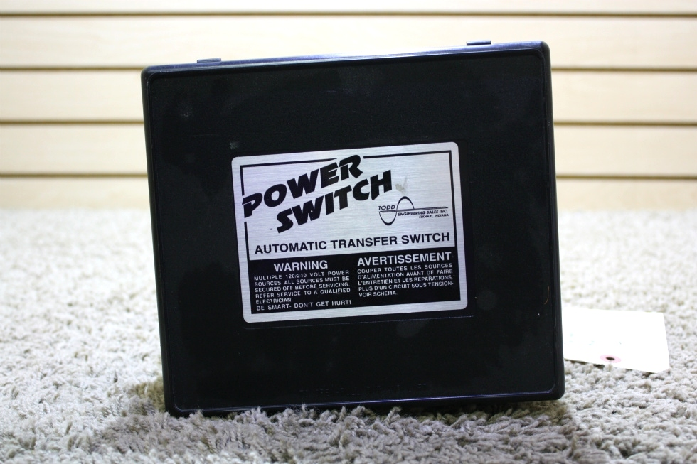 USED RV POWER SWITCH AUTOMATIC TRANSFER SWITCH TS 30 FOR SALE