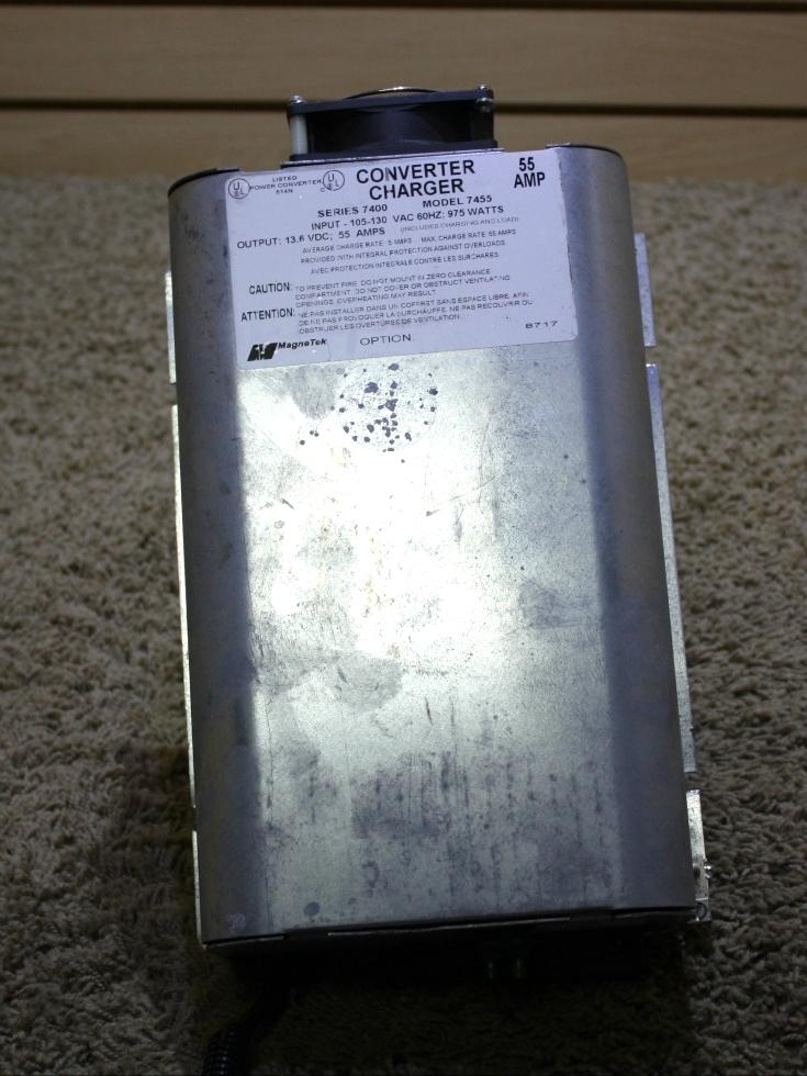 Used Rv  Motorhome Magnetek Series 7400 55 Amp Converter
