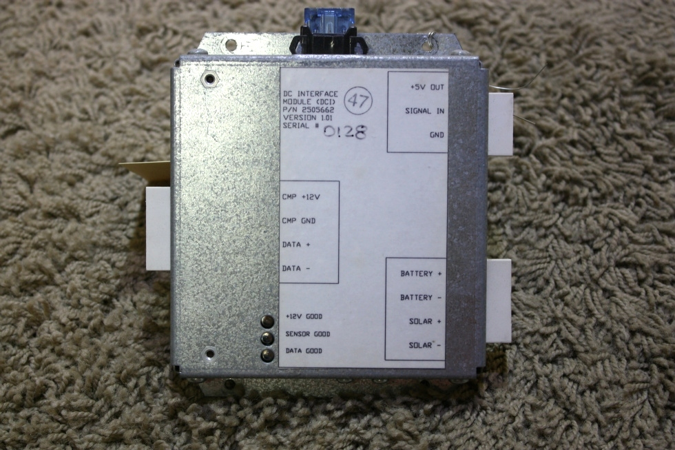 USED DC INTERFACE MODULE (DCI) PN: 2505662 RV PARTS FOR SALE