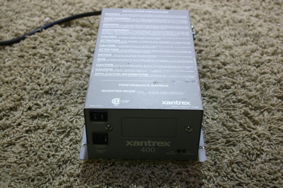 USED MOTORHOME XANTREX 400 INVERTER 80-0401-12 FOR SALE