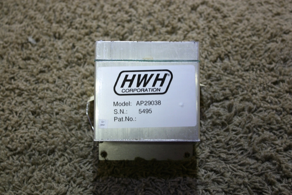 USED HWH LEVELING CONTROL BOX AP29038 RV PARTS FOR SALE