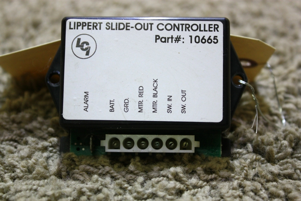 USED RV LIPPERT SLIDE OUT CONTROLLER 10665 FOR SALE