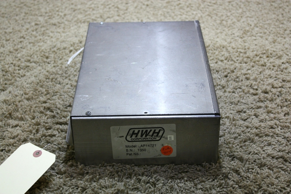 USED RV HWH LEVELING CONTROL BOX AP14721 FOR SALE