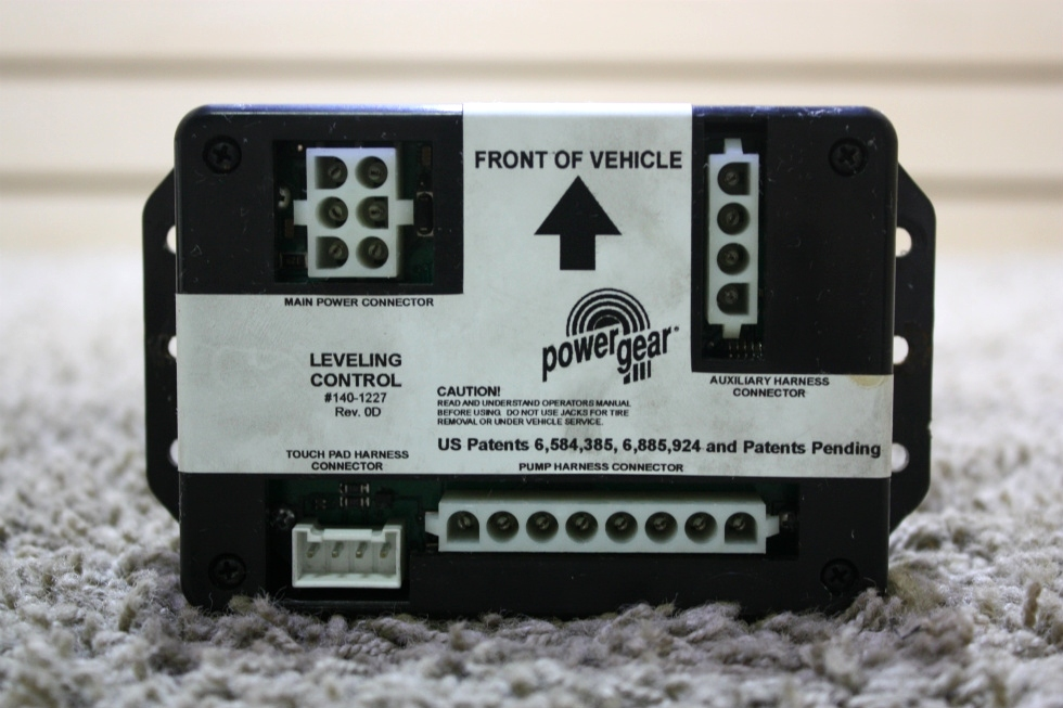 USED MOTORHOME POWER GEAR LEVELING CONTROL 140-1227 FOR SALE